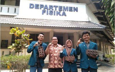 Congratulations GONCO TEAM UNDIP Semifinalist IdeaNation 2019 Physics in Jakarta