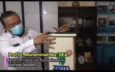 Nidom Foundation Conducts Effectiveness Test of Zeta Green Creations CPR UNDIP Reduce Covid-19 Virus in Room